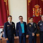 Algorfa entrega la Medalla al Mérito Civil de Algorfa a dos Policías Locales
